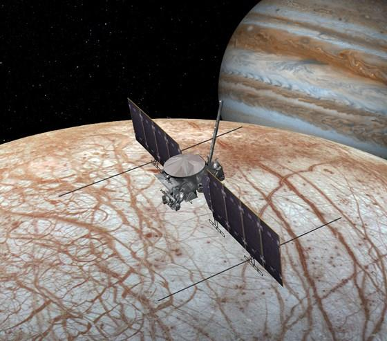 Europa Clipper Mission. Image credit: NASA.